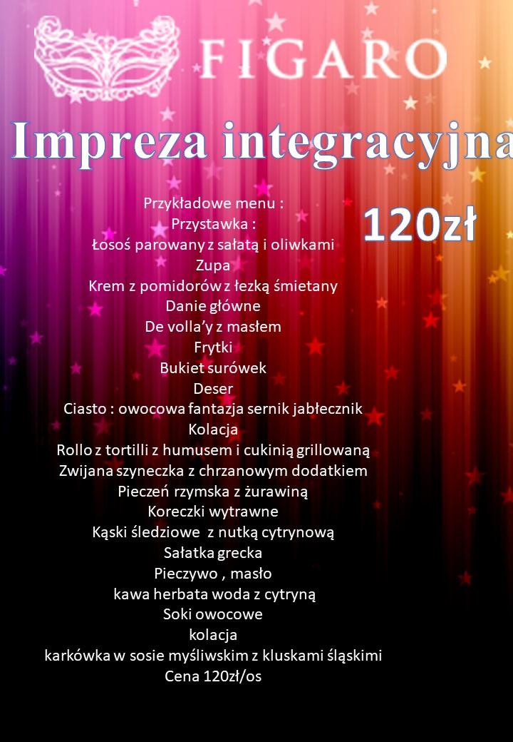 Spotkania integracyjne - Sala Bankietowa Figaro